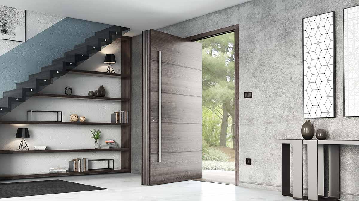 דלתות PIVOT מעוצבות