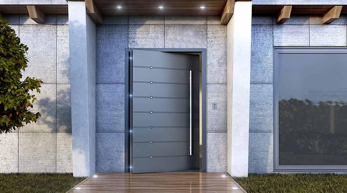 דלתות פיבוט קריפטו במגוון צבעים