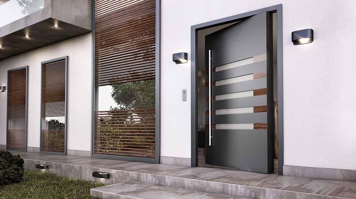 דלתות PIVOT מעוצבות דגמים 2018