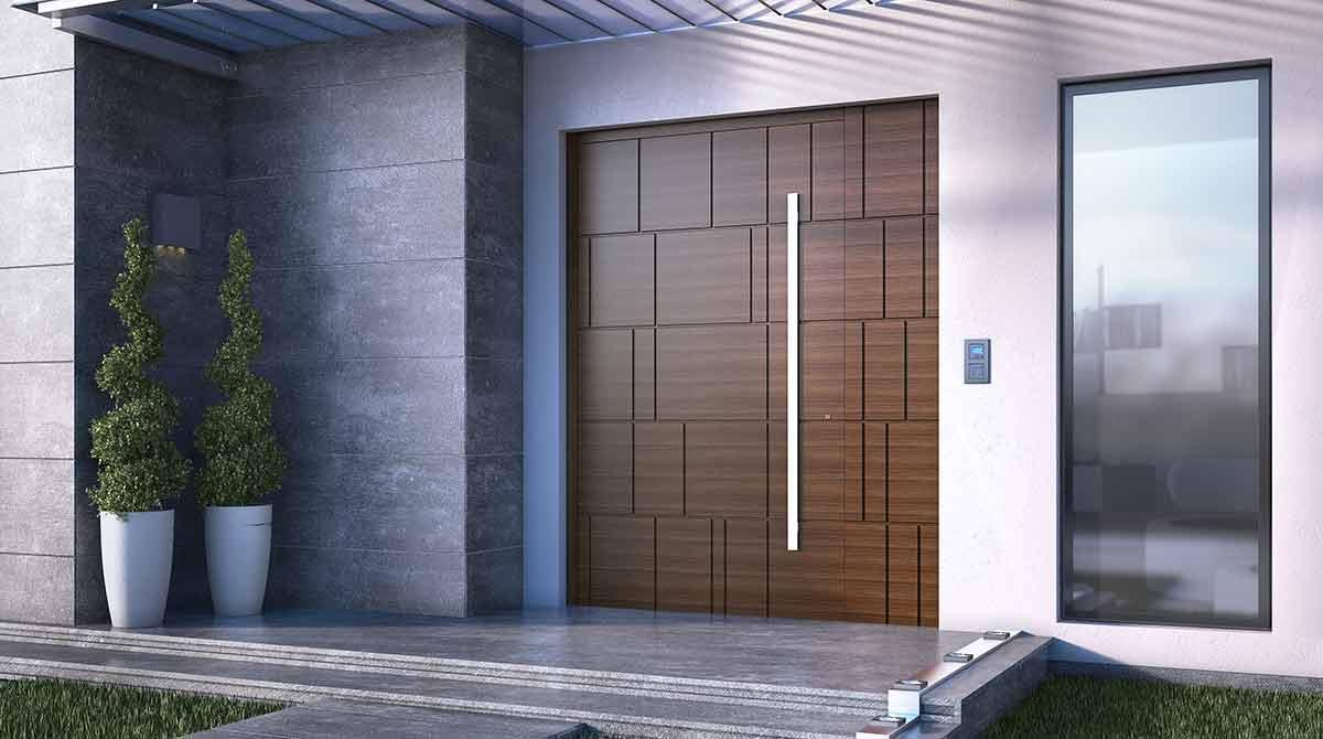 דלתות PIVOT מעץ דגמים מעוצבים 2018