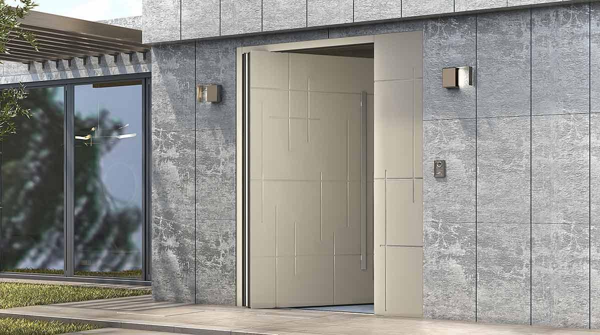 דלתות PIVOT באז'