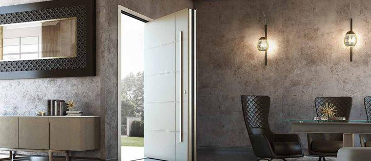 דלתות וידיות לדלת כניסה מעוצבת