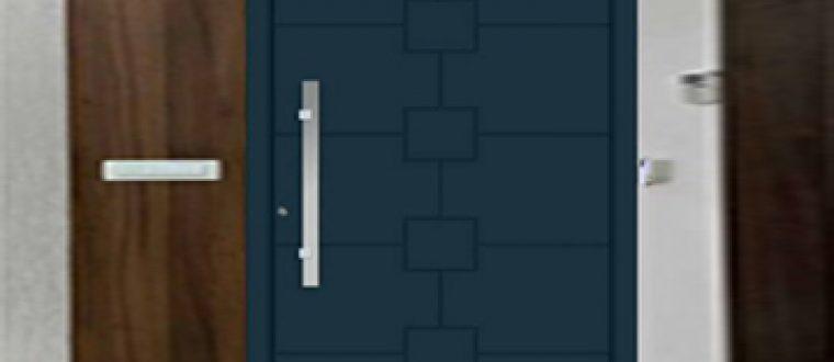 עיצוב דלתות כניסה מאלומיניום