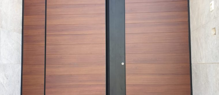 דלת דגם TLS 90 משולב חיפוי עם ידית קריפטו מוארת, אשדוד